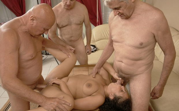 old-and-young-gangbang-three-old-geezers