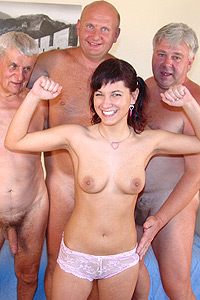 old and young gangbang 20
