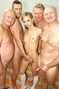 old and young gangbang 9