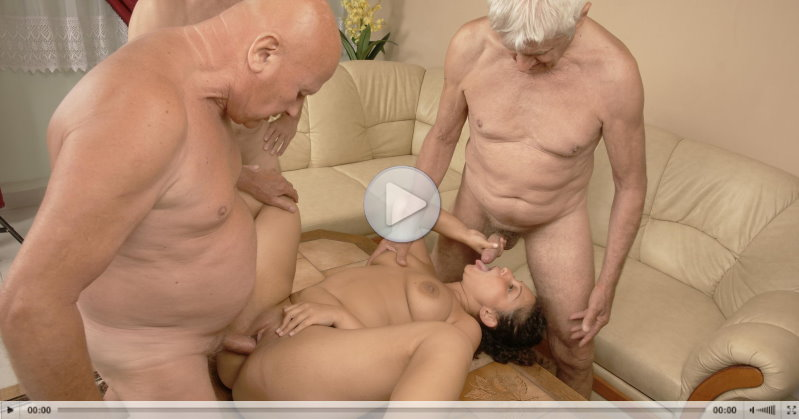 Old And Young Gangbang trailer